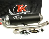 Burgman Exhaust Turbo Kit GMax 4T - Racing Exhaust System for Suzuki Burgman 400i