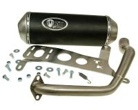 Kymco Race Exhaust by Turbo Kit GMax 4T for Kymco Agility City 125 Scooters