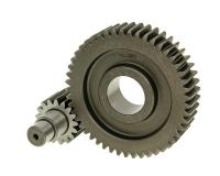 secondary transmission gear kit Malossi HTQ 17/49 for Piaggio 125-200cc 4-stroke