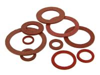 Naraku Fiber Seal Rings Assorted Sizes by Naraku Scooter Performance Parts
