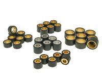 Universal Scooter Variator Weights Parts for Maxi-Scooter Engines Various Applications - Replacement Rollers and Variator Roller Weight Sets