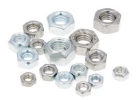 Shop Replacement Scooter Hex Nuts Zinc Plated Galvanized or Stainless Steel by 101 Octane Scooter Parts