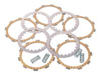 clutch disc / friction plate set MVT reinforced for Minarelli AM