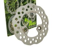 NG Brake Disk Replacement Scooter and ATV Brake Rotors NG for Kymco Agility, Dink, Super 9, MXU, UTB, Hyosung, Boatian China 4T 50cc Scooters by NG Brake Disc