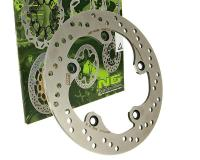 NG Brake Disc 240mm Replacement Rotor Disks for Kymco Xciting 250, 300, 500cc Maxi-Scooters by NG Brake Disc