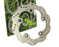 NG Brake Disc Rear 240mm Kymco Xciting 250, Xciting 300, Xciting  500ccr Kymco Maxi-Scooters Racing Style Braking Rotor Replacement by NG Brake Disc