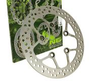 NG Brake Disc Kymco Replacement Braking Rotors Disk for Kymco Agility City 125, Kymco People 50, Kymco People 300cc Scooters by NG Brake Disc