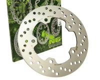 SYM Maxi Rear Brake Disk Rotor by NG for SYM HD 200, SYM HD 200i EVO, SYM RV 250 Scooters