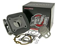 Naraku High-Performance 60cc Big Bore Cylinder Kit Naraku Speed for Kymco Maxxer Quad, MXU 50 ATV, SYM Jet Scooters