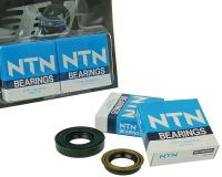 crankshaft bearings Naraku heavy duty left and right incl. oil seals for Minarelli