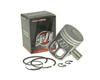 Minarelli Naraku 50cc Piston Set Naraku 12mm wrist pin for 1E40QMB China 2T Adly, CPI, Keeway, TNG, Vento Scooters by Naraku Performance Parts