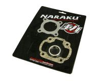 1E40QMB Naraku Scooter Parts Shop - Replacement Engine Cylinder Gasket Set Naraku for 1E40QMB 2T Engines in 50cc Benelli, CPI, Keeway, QJ, TNG, Vento, Yamati, United Motors Scooters