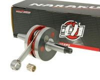 crankshaft Naraku racing HPC for Minarelli AM, Generic, KSR-Moto, Keeway, Motobi, Ride, CPI, 1E40MA, 1E40MB