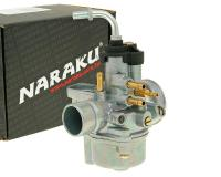 carburetor Naraku 17.5mm with e-choke prep for Minarelli, Peugeot