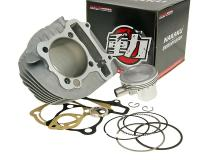 Naraku GY6 Performance 180cc 63mm Cylinder Kit with Forged Piston for Kymco AC, Genuine Buddy 150, QMI157, QMJ157, GY6 Scooters