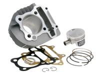 Naraku Performance GY6 160cc Cylinder Kit 58.5mm forged piston for Kymco AC, QMI157, QMJ157, GY6 engines
