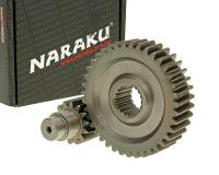 secondary transmission gear up kit Naraku racing 14/39 +10% for GY6 125/150cc 152/157QMI