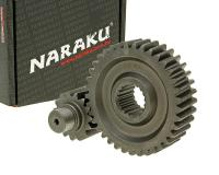 secondary transmission gear up kit Naraku racing 15/37 +20% for GY6 125/150cc 152/157QMI