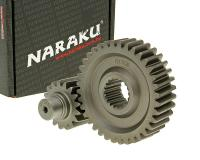 secondary transmission gear up kit Naraku racing 17/36 +31% for GY6 125/150cc 152/157QMI