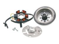 Aprilia RS50 Scooter Parts and Accessories Alternator Stator and Rotor OEM for Aprilia, Piaggio, Derbi engine D50B0 E-start