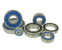 ball bearing with radial seals 2RS different sizes