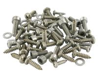 fairing screw set comp STR8 New Style stainless steel for MBK Nitro/Yamaha Aerox 50cc