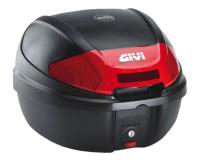 GIVI Monolock Scooter Trunks & Accessories Top Case GiVi E300 Monolock scooter trunk black 30L capacity