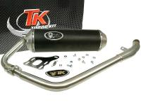 Kymco Quannon Racing Exhaust System by Turbo Kit X-Road for Kymco Quannon 125cc Motorcycles
