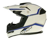helmet Vega MX motocross Stealth white