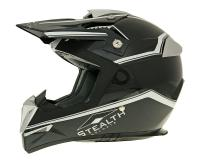 helmet Vega MX motocross Stealth black