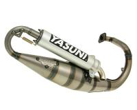 exhaust Yasuni Scooter R aluminum E-marked for Peugeot vertical