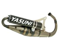 exhaust Yasuni Scooter Z carbon E-marked for Minarelli vertical