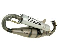 Derbi Yasuni High-Performance Exhaust System Yasuni Carrera 16 in Aluminum for Piaggio Engine Scooters found in Aprilia SR50, Derbi Atlantis, Piaggio Fly 50, Vespa LXV Scooters
