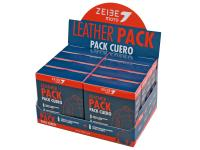 Scooter Shop Zeibe Moto Leather Cleaner Pack Display includes Zeibe Cleaner 8x150ml and Protector 8x100ml Kits - Perfect Gift Set for Motorcycle Riders!
