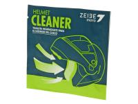 helmet cleaner Zeibe impregnated cellulose wipe