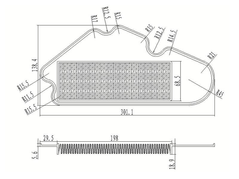 Satz 4x Sensor Einparkhilfe Ultraschallsensor für VW Passat Variant Santana