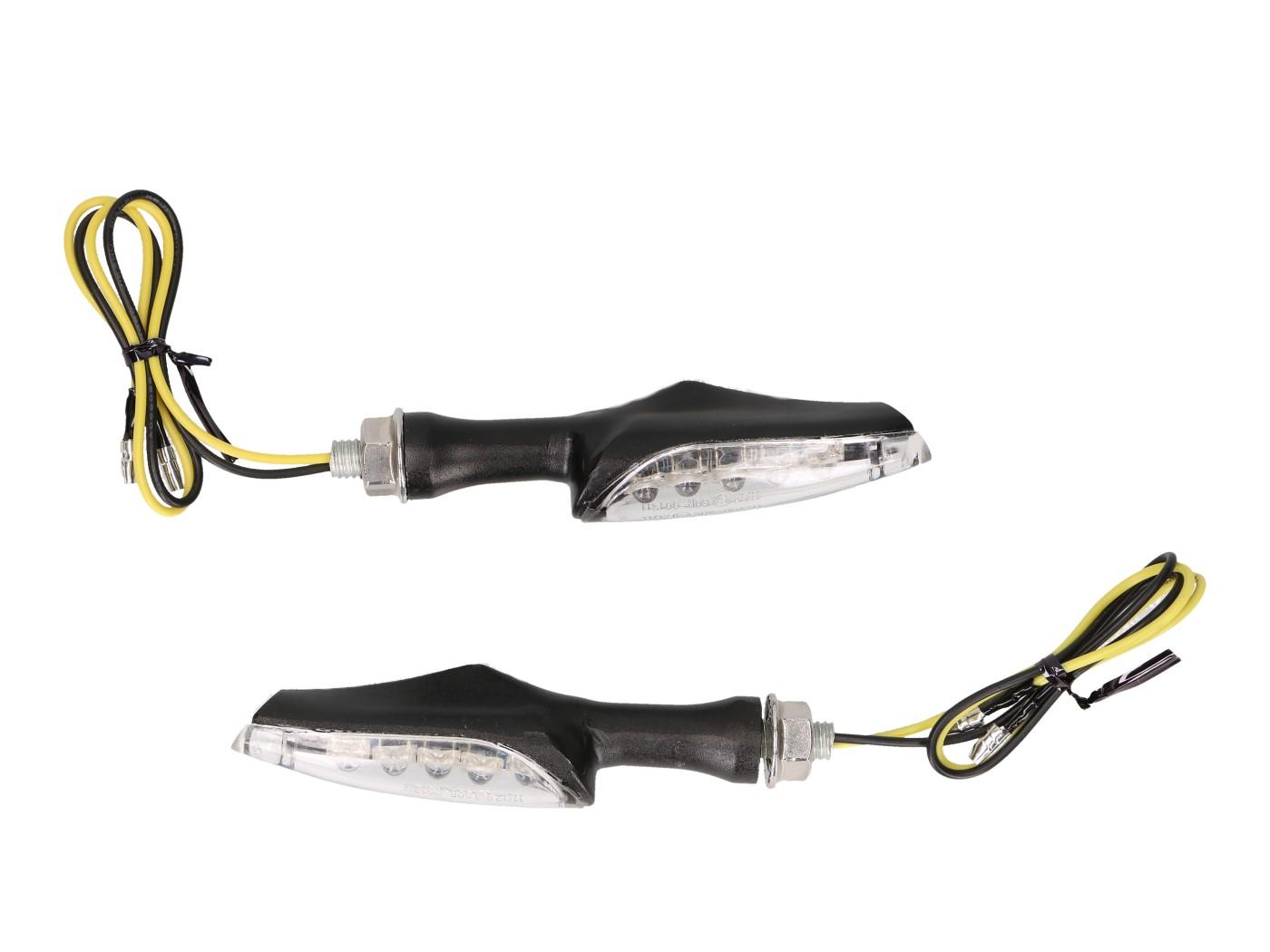 Blinker Set M8 LED schwarz für Generic Trigger 2016 Generic Trigger indicator